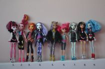 Bábiky monster high
