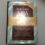 The portable mba in finan