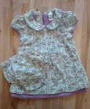 Baby šaty floral, 3-6m