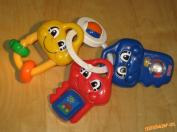 Kluciky Fisher Price